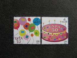 O.N.U.  C.I. De Vienne : TB Paire N° 357 Et N°358, Neufs XX. - Wien - Internationales Zentrum
