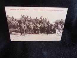 Militaria.Croquis De Guerre 1914.Ambulance à Son Départ Pour Le Front .Voir 2 Scans . - Zonder Classificatie