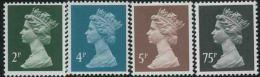 1988 Gran Bretagna, Elisabetta II,  Ordinaria , Serie Completa  Nuova (**) - Nuovi