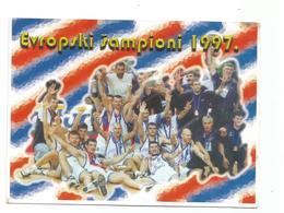 BASKETBALL YUGOSLAVIA EUROPEAN CHAMPIONS SPAIN 1997 - Pallacanestro