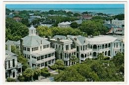 CHARLESTON, S.C. - ROOF TOPS OF CHARLESTON NEAR THE FAMOUS BATTERY - 1992 - Vedi Retro - Charleston