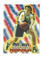 BASKETBALL YUGOSLAVIA EUROPEAN CHAMPIONS SPAIN 1997 ZELJKO REBRACA - Basketball