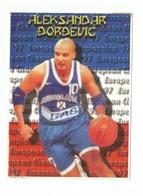 BASKETBALL YUGOSLAVIA EUROPEAN CHAMPIONS SPAIN 1997 ALEKSANDAR DJORDJEVIC - Basketball