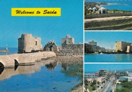 Saida Sidon Multiview 1967 - Liban