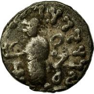 Monnaie, Royaume Indo-Scythe, Azes I, Drachme, 55-35 BC, TB+, Billon - Grecques