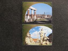 O.N.U.  C.I. De Vienne : TB Paire N° 384 Et N°385, Neufs XX. - Wien - Internationales Zentrum