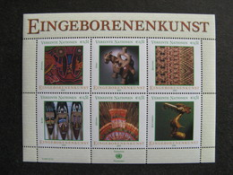 O.N.U. C.I. De Vienne: TB Série En Feuille De 6 Des N° 393 Au N° 398, Neufs XX. - Wien - Internationales Zentrum
