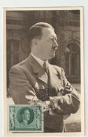 Carte-Maximum ALLEMAGNE IIIe Reich N° Yvert 764 (HITLER) Obl Sp Ill 1944  RRR - Allemagne