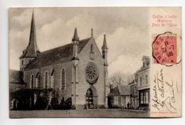 CP31057 - Cheffes-sur-Sarthe - Place De L'Église - Voyagée - France
