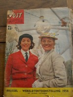 Tijdschrift POST  Brussel  -- WERELDTENTOONSTELLING  1958 - Brocante & Collections