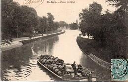CPA 47 Lot Et Garonne 38 Canal Du Midi - Non Classés