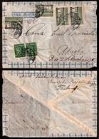 FINLAND. 1947. Ilinajoki - ALASKA.a Ir Fkd Env. Scarce Dest Mail. Part Flap Gone. - Finlande