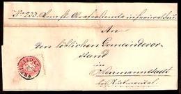 AUSTRIA. 1864. Freiwalden - Herrmannstadt. EL / 5 K P 9 1/2. - Austria
