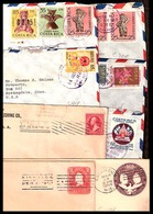 COSTA RICA. XX. 5 Covers / To USA. - Costa Rica
