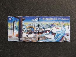 O.N.U.  C.I. De Vienne: TB Bande N°405 Et N° 406, Neuve XX. - Ungebraucht