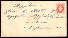 AUSTRIA. 1883. Muerzsteg - Wien. 5 Kr Stat Env Cds (xxx) (15 Pts). XF. - Österreich