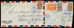 COSTA RICA. C.1949. 3 Covers. - Costa Rica