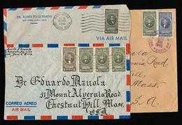 COSTA RICA. C.1946-8. 3 Covers / 85c. VF. - Costa Rica