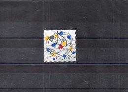 4925 Saint-Valentin Coeur De Castelbajac Oblitéré 2015 - France
