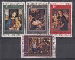 ST CHRISTOPHER NEVIS ANGUILLA - NATALE - LINGUELLATI 1972 - St.Kitts E Nevis ( 1983-...)