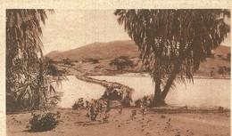 """2758 """" AGORDAT - PASSAGGIO DEL BARCA """"CART.POST. ORIG NON SPED. - Eritrea"""