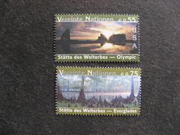 O.N.U.  C.I. De Vienne : TB Paire N° 410 Et N°411, Neufs XX. - Wien - Internationales Zentrum