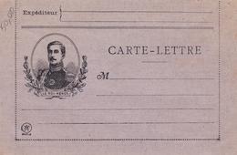 CARTE LETTRE - Grande Guerre - - 1914-18
