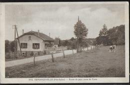 CPA 70 - Demangevelle, Entrée Du Pays Route De Corre - Frankreich