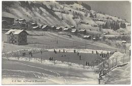 L'Hiver à Champéry 1908 - Jullien Frères - VS Valais