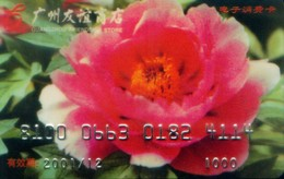 China Gift Cards,1000 RMB, Flower , Guangzhou Friendship Store ,(1pcs) - Gift Cards