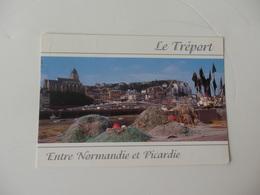 Le Tréport, Le Port, L'église Saint-Jacques Et Les Falaises. - Le Treport