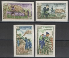 Laos - YT 86-89 ** Non Dentelés - 1963 - Laos