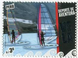 Lote P2010-13, Peru, 2010, Sello, Stamp, Vela, Deporte Extremo, Extreme Sport Sail - Perú