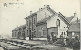 WEVELGHEM - WEVELGEM : Statie - Cachet De La Poste 1924 - Wevelgem