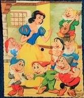 Phonoscope ( Carte Musicale Disque 45 Tours ) - Blanche Neige Et Les Sept Nains . - Fancy Cards