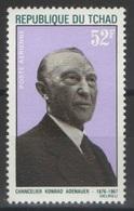 Tchad - YT PA 46 ** - 1968 - Konrad Adenauer - Tchad (1960-...)