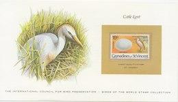 GRENADINES Of ST. VINCENT Cattle Egret.BARGAIN.!! - Vogels