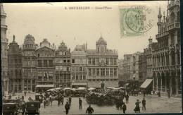 BRUXELLES : Grand'Place - Marktpleinen, Pleinen