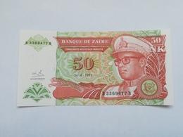 ZAIRE 50 NOUVEAUX MAKUTA 1993 - Zaïre
