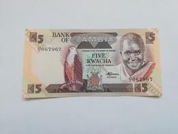 ZAMBIA 5  KWACHA - Zambie