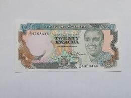 ZAMBIA 20  KWACHA - Zambie