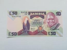 ZAMBIA 50  KWACHA - Zambie