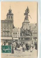 CPA 02 Aisne Saint St Quentin Le Monument De 1557 Et Le Beffroi - Saint Quentin