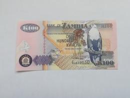 ZAMBIA 100  KWACHA - Zambie