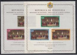 VENEZUELA 1962 Nº HB-6/7 NUEVO - Venezuela