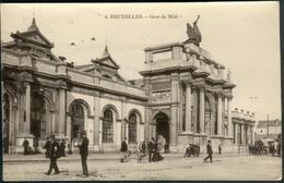 BRUXELLES :  La Gare Du Midi - Marktpleinen, Pleinen