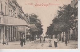 CÔTE D'OR - 60 - DIJON - Gare Des Tramways Départementeaux - Boulevard De Sevigne - Dijon
