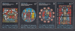 ST CHRISTOPHER NEVIS ANGUILLA - NATALE - LINGUELLATI 1977 - St.Kitts E Nevis ( 1983-...)