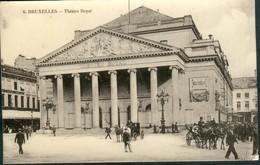 BRUXELLES :   Théatre Royal De La Monnaie - Marktpleinen, Pleinen