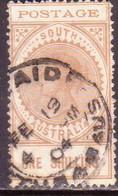 AUSTRALIA SOUTH AUSTRALIA 1902 SG #275 1sh Used Wmk Crown Over SA Thin POSTAGE - 1855-1912 South Australia